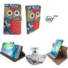 HAIPAI n7889-Housse de protection pour téléphone portable - 360 ° XL Cerf Hibou