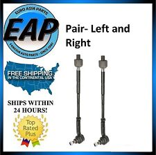 For Beetle Golf Jetta 1.8L 1.9L 2.0L 2.5L 2.8L PAIR Inner Outer Tie Rod Assembly