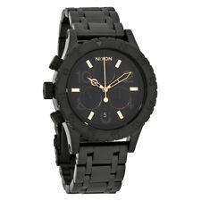 Nixon 38-20 Black Dial Ladies Chronograph Watch A404-957-00