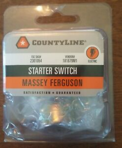 Massey Ferguson Replacement Starter Switch # 181679M1 for T020 & T030 *NEW