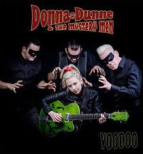 DONNA DUNNE & The Mystery Men Voodoo CD - Female Rockabilly Polecats psychobilly