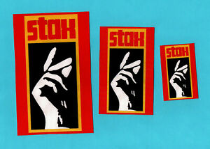 STAX RECORDS. 3 STICKERS. Soul music.