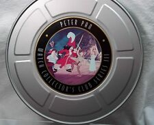 Walt Disney Dscc Club Collector Watch Series 3 Peter Pan in Movie Tin