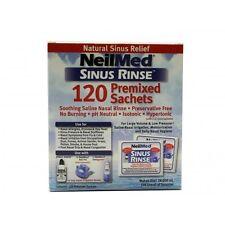 NEILMED Sinus Rinse 120 sachets SINUS ALLERGY CONGESTION HAYFEVER