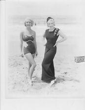Bette Davis busty leggy Joan Blondell RARE Photo