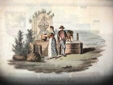 FONTANA VICINO A ROMA,James Godby & Sold Jan.y 1. 1806, P. Van Lerbergh.