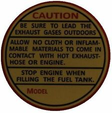 Maytag Engine & Washer Decal Black Gold Red Gas Motor Wringer Hit Miss