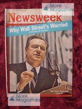 NEWSWEEK Magazine May 14 1962 5/14/62 NELSON ROCKEFELLER BIRMINGHAM +++