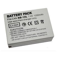 1200mAh NB-10L Battery for Canon G1X G15 G16 SX40HS SX50HS SX60HS SX40 SX50 SX60