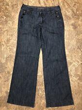 Sonoma Sz 4 Womens Wide Leg Straight Leg Trouser Jeans 4x31 Cotton Stretch