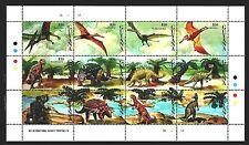 SELLOS DINOSAURIOS GUYANA 1993 2913/24 12v. MH