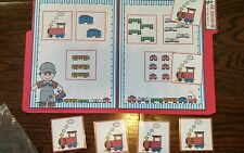 Counting 1-6 Kindergarten Math Center Numbers File Folder Game Teacher Resource