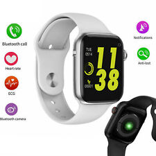 Men Women W34 Bluetooth Call Smart Watch ECG Heart Rate Monitor Smartwatch