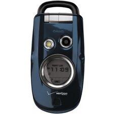 Casio C211 G'zOne Type S Rugged Cell Phone Camera GPS Blue Fair