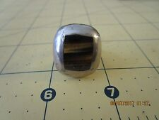 Sterling Silver Tiger Eye Taxco Mexico Vintage Ring Size 6.5