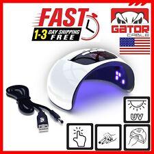 Ultraviolet UV LED Nail Gel Polish Dryer Lamp Salon Manicure Curing Light 54W