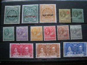 stamps Antigua