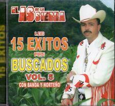 El As De La Sierra Los 15 Exitos Mas Buscados Vol 5   CD New Sealed