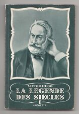 2 x Hachette Paperbacks - Victor Hugo - La Legend Des Siecles 1 & 2 in French