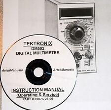 Tektronix Operating & Service manual for the DM502 Digital Multimeter