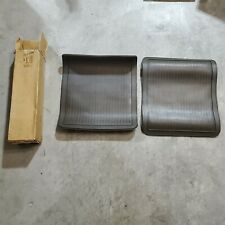 73-76 Buick Chevy Olds Pontiac Midnite Neutral Brown Rear Floor Mats 989130 NOS