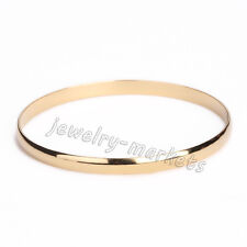 Women Stainless Steel 3 Colors Multilayer Cuff Charm Bracelets Bangle Jewelry