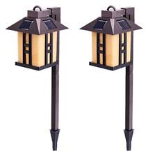 New listing Gigalumi Solar Powered Path Lights, Solar Garden Lights Outdoor, Landscape Light