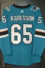 Erik Karlsson San Jose Sharks Adidas Home NHL Hockey Jersey Size 54