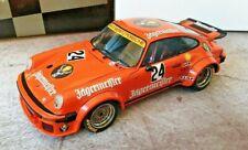EXOTO PORSCHE 934 RSR 1976 N° 24 JAGERMEISTER Nurburgring - 1:18 - RARE NEUF