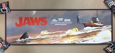 """JAWS """"The Chase"""" Titled Screen Print Poster AP #29/40 Amity '74 by JC Richard"""
