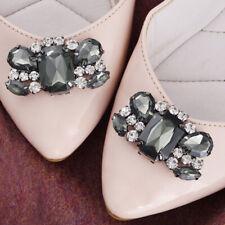 1 pares DIY pedrería zapato clips zapato joyas decoración para novia zapato boda