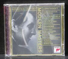 CD Leonard Bernstein Modern masters Lopatnikoff Dallapiccola Shapero NM