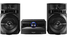 Panasonic 300w 2-Channel Mini Hi Fi System/Bluetooth/USB/FM Radio/CD Player