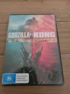 GODZILLA vs KONG Brand New DVD Sealed Australian Region 4 (King Kong)