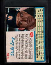 1962 POST CEREAL #65 DALE LONG VG-EX F064