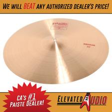 "Paiste 2002 22"" Medium Crash Cymbal! Buy from CA's #1 Dealer today!"
