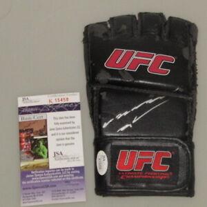 ANDERSON SILVA Hand Signed UFC 4oz Glove + JSA COA  UFC Champion *PLEASE READ*