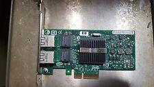 HP NC360T Dual Port Gigabit PCIe 412651-001 412646-001 HSTNS-BN16 (R1S4.7B3)