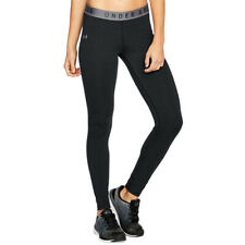 Under Armour UA Favourite Womens Black Long Tight Fitted Gym Running Leggings