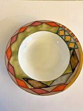Sasaki PALAZZO Rimmed Pasta / Soup Bowl ~ Designed By Paula Zanger - Set of 2