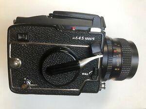 Mamiya m645 1000s w/80mm 2.8 Sekor Lens + Waist Level Finder - Good Condition