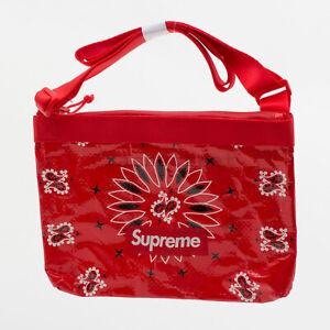 Supreme SS21 Bandana Tarp Side Bag box camp cap tee logo bag waist backpack