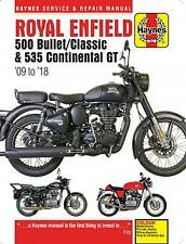 Royal Enfield Bullet Classic 2009-2018 Continental GT 2013-18 Haynes Manual 6427