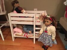 doll bunk bed customizable (fits american girl dolls, and stuffed animals).