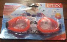Intex Kids 8+ Orange UV Swimming Swim Play Goggles Recreation