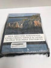 Aelii Aristidis Adrianensis Opera Omnia: Graece & Latine, in Duo Volumina, New