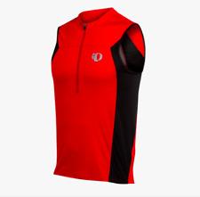 Pearl Izumi Select Triathlon Sleeveless Jersey - Mens - Red, Blk, Wht - Large