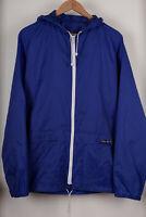 VTG Peter Storm Men`s Light Blue Awaydays 80s casuals Cagoule Jacket Size M