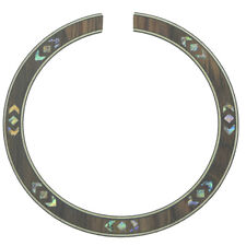 Quality Guitar Soundhole Rosewood Rosette with Abalone Shell Inlay Design