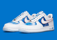 Nike Air Force 1 '07 White Pacific Blue DC1404-100 Men's Shoes NEW